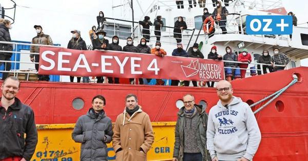 """Revolverheld in Rostock: So unterstützt die Rockband den Seenotretter """"Sea-Eye4"""""""