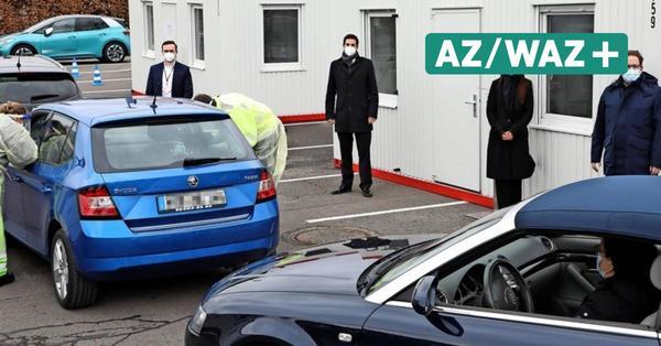 Täglich 1000 Tests möglich: Wolfsburg hat jetzt ein Drive-In-Testzentrum