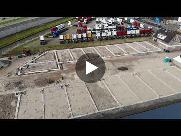 ROELOFARENDSVEEN - Werkzaamheden Cilinderweg (video)
