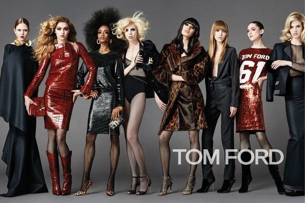 Tom Ford's Fall 2015 ad campaign was seen as a very diverse mix of models. But the thing that have in common is they all wear size 0 or 2.