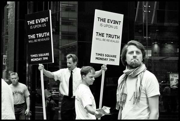 The Truth Will Be Revealed, New York City, September 2010.