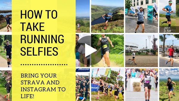 How to take Running Photos and Selfies for Instagram, Strava, Twitter and Facebook!
