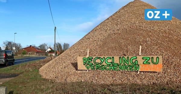Landkreis Rostock: Gratis Recycling-Material für Selbstabholer