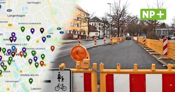 Achtung, Staus! Das sind 2021 Hannovers wichtigste Baustellen
