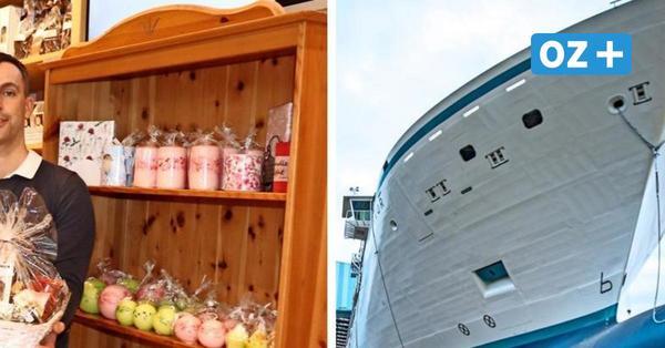 MV-Werften Stralsund: Warum Zulieferer und Kfz-Mechaniker Witthaus jetzt einen Teeladen betreibt