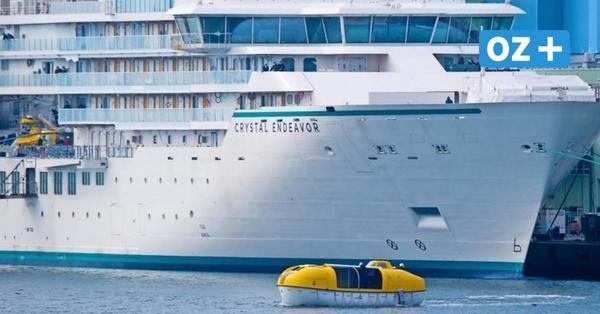 """""""Crystal Endeavor"""" aus Stralsund: Erste Kreuzfahrt der Luxus-Yacht steht bevor"""