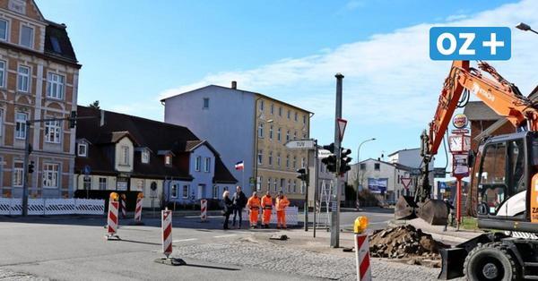 Stralsunder Straßenbaustellen: Hier wird umgeleitet