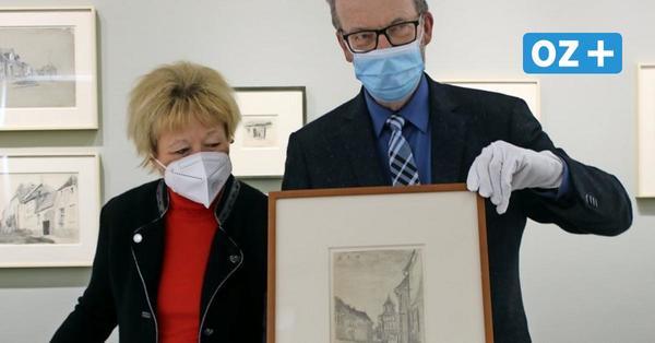 Von New York nach Ribnitz: Ehepaar kauft Feininger-Zeichnung für 17.500Euro