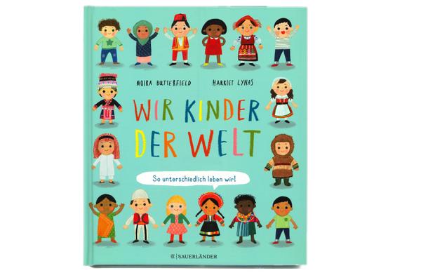 """Cover des Buches """"Wir Kinder der Welt"""", erschienen im Verlag Sauerländer"""