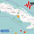 Registran varios sismos en Cuba en las últimas horas