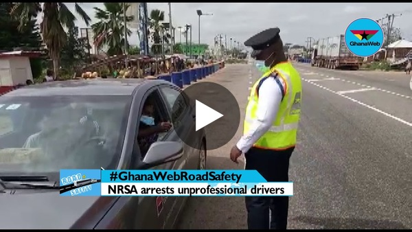 #GhanaWebRoadSafety: Drivers flouting traffic regulations with impunity – NRSA