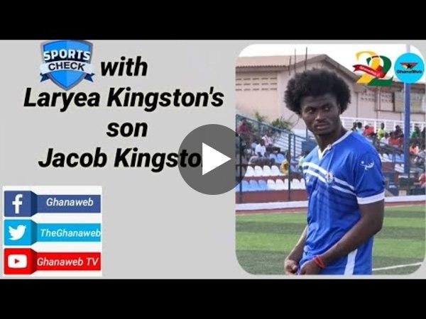 Sports Check with Laryea Kingston's son Jacob Kingston