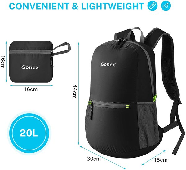 Gonex Ultralight Handy Travel Backpack