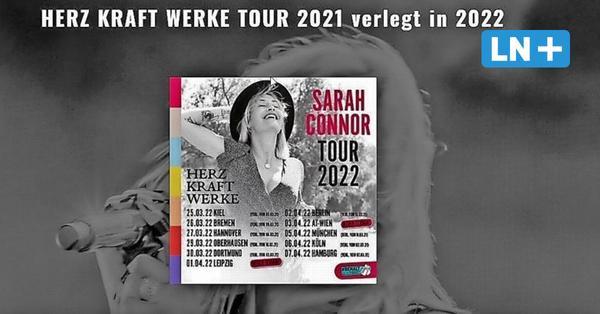 Konzert verschoben: Sarah Connor kommt dieses Jahr nicht nach Bad Segeberg