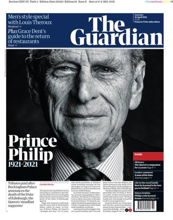 The Guardian lørdag