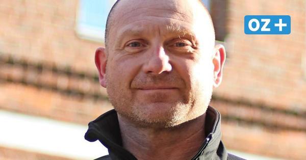 Bürgermeister-Kandidat Marc Bindzau – ein bekanntes Gesicht in Grimmen