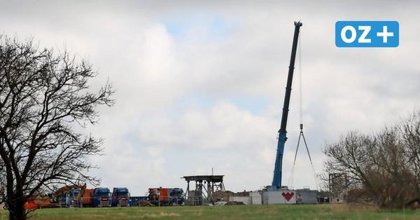 Darum wird auf dem Fracking-Gelände in Saal wieder ein Bohrturm gebaut