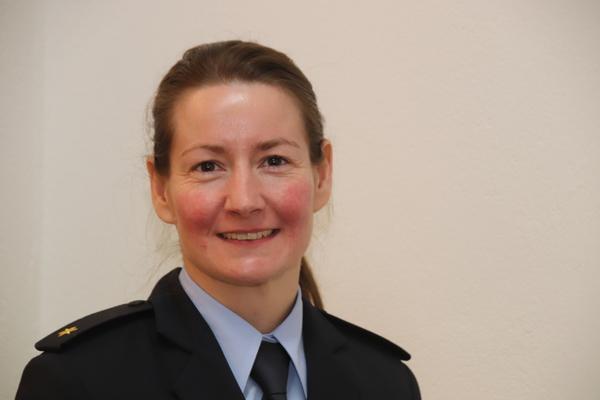Peggy Sojka, Vize-Chefin der Ratzeburger Bundespolizei (Foto: Joachim Strunk)
