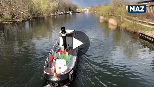 Dampfer Luise auf der Havel