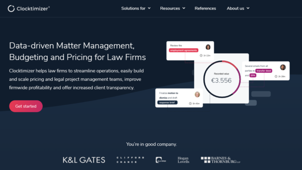 Litera Acquires Clocktimizer, Rounding Out Its Firm Intelligence Business | LawSites