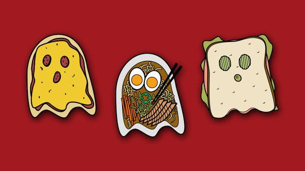Food Ghosts: Savory Set