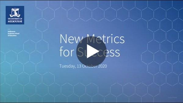 New Metrics for Success - Webinar