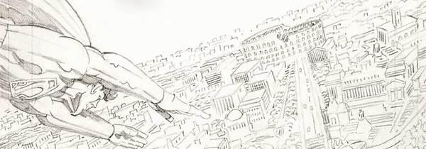 Jack Kirby - Superpowers Original Comic Art
