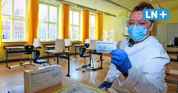 So bereiten sich Lübecks Schulen auf die Testpflicht vor