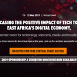 Showcase the positive impact of Tech to drive East Africa's digital economy - 11-12th May