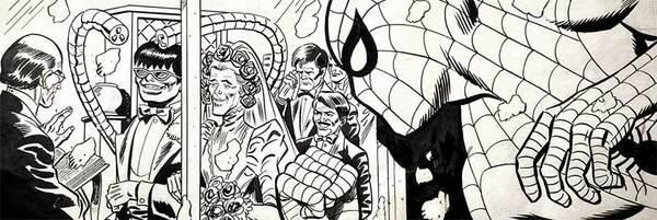 Spider-Man Original Comic Art