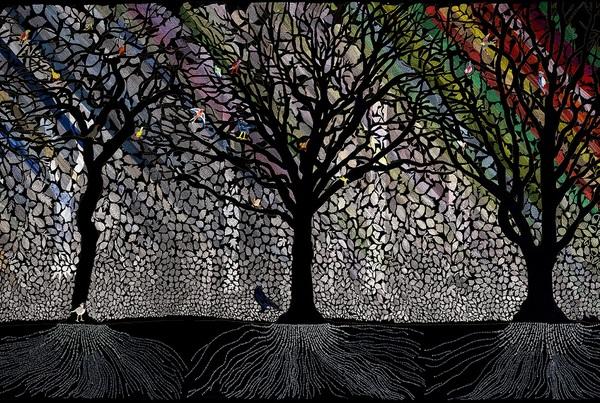 Honderdduizend bomen en een bos van draad, Sara Vrugt. Foto Rogier Chang