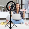Create your own studio with a ring light and tripod bundle