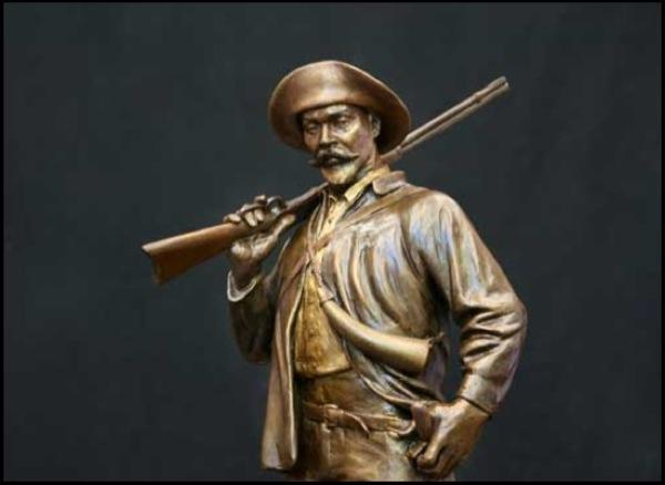 Holt Collier ⋆ Thomas Jay Warren, Sculptor