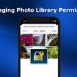 How To Manage Photo Library Permission In iOS