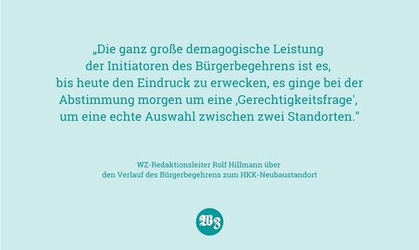 """Morgen geht es nicht um eine """"Gerechtigkeitsfrage"""" - Meinung - Walsroder Zeitung"""
