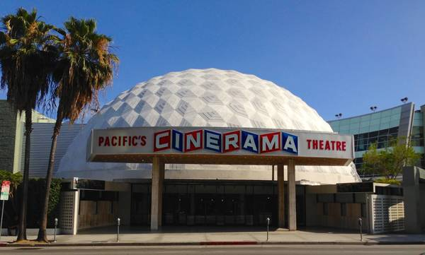 Hollywood's iconic Cinerama Dome, survivor of 1990s redevelopment, is crushed by COVID