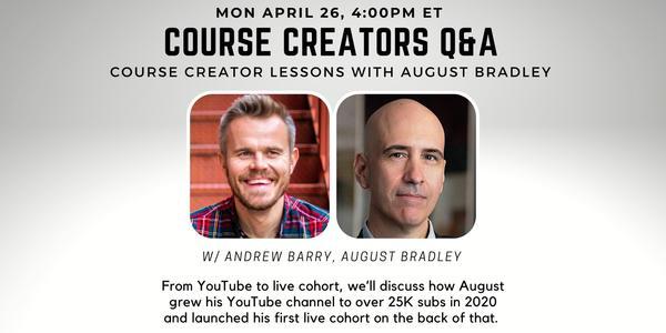 Course Creators Q&A