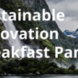 Sustainable Innovation Breakfast Panel | Thur 22nd Apr 8am | Creative HQ, 54 Inglewood Place, Wellington