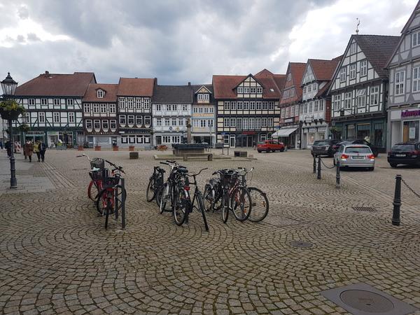In Celle stehen rund 400 Fachwerkhäuser. (Foto: Bernd Haase)