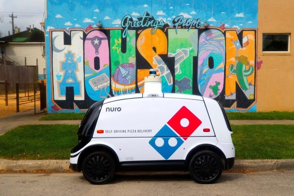 Self-Driving Delivery Speeds Up