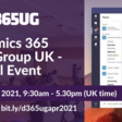 📅 D365UG UK User Group