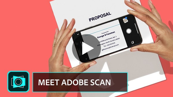 Meet Adobe Scan. The free scan app with text recognition superpowers. YouTube
