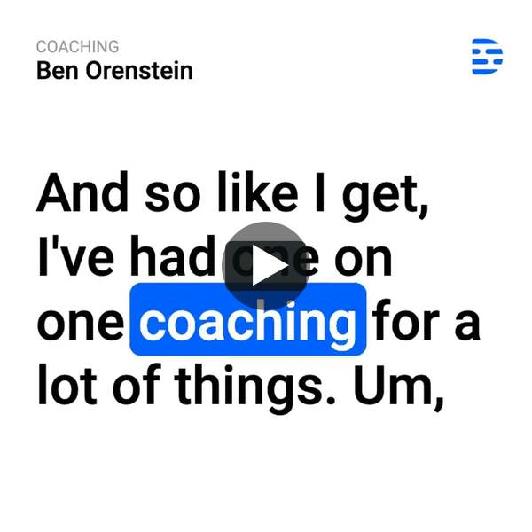 A clip from the latest IndieHackers podcast with Ben Orenstein of tuple.app.