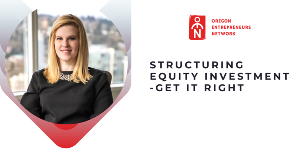 Structuring Equity Investment on April 21st