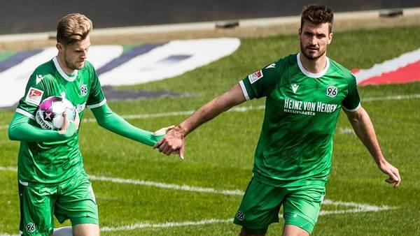 96-Duo bringt frischen Wind: Ducksch trifft, Schatzschneider lobt Weydandt