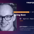 Spring Boot Masterclass Taster with Joris Kuipers GOTO Nights - Wednesday, 21 April at 1000