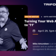 Turning Your Web API Up to '11' - Thursday, 29 April at 1700