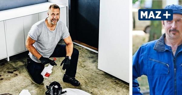 """Ein ungewöhnlicher Job: Marcell Engel ist der """"echte"""" Tatortreiniger"""
