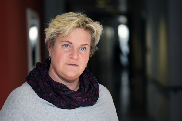 Becky Fischer-Liebe, Leiterin des Vitanas-Seniorencentrums. Foto: Bernd Gartenschläger