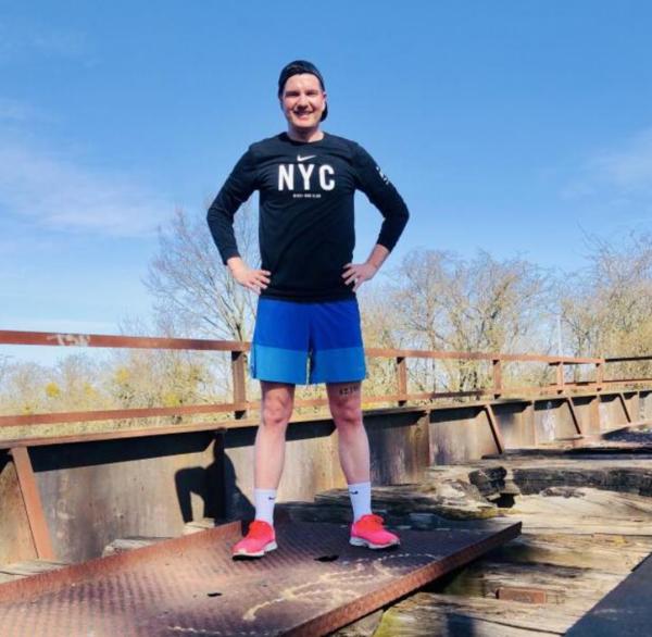 MAZ-Reporter Matthias Schütt ist leidenschaftlicher Läufer. (Foto: Privat)
